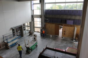 View from 2nd Floor to Lobby