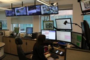 Dispatchers have to be extremely good multi-taskers in order to thrive in a PSAP. (O'Fallon Weekly Photo by Nick Miller)