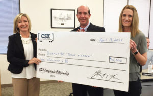 CSX District 90 Donation