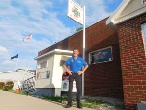 Jeff Hastings has been involved with VFW Post #805 since 2001. He was recently elected as Illinois State Senior Vice Commander of the VFW. (O'Fallon Weekly Photo by Terry Chapman)