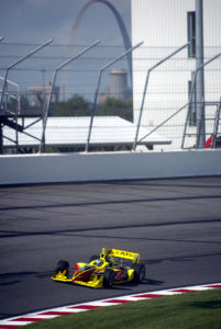 A scene from the Gateway Indy 250 in 2002 (Photo by INDYCAR)
