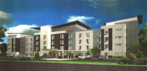 An artist's rendering of the proposed TownePlace Suites by Marriott International (Submitted Photo)