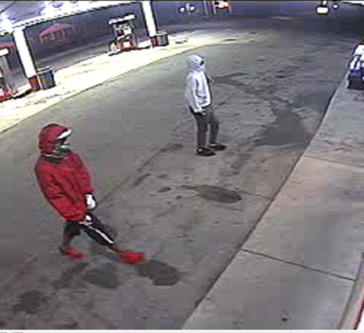 Police are asking for help identifying these two suspects who robbed the Circle K in Shiloh.