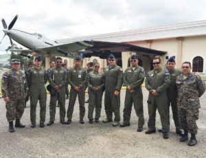 Capt. Diego Torres, a flight nurse evaluator with the 375th Operations Group, Detachment 4 located at Wright-Patterson Air Force Base, Ohio, and a team of International Health Specialists visited Tegucigalpa, Honduras as part of a global health engagement. The purpose of the engagement was to advise the Honduran Air Forces on drafting and implementing a checklist for their aeromedical evacuation operations, patient staging preparation and AE doctrine development.