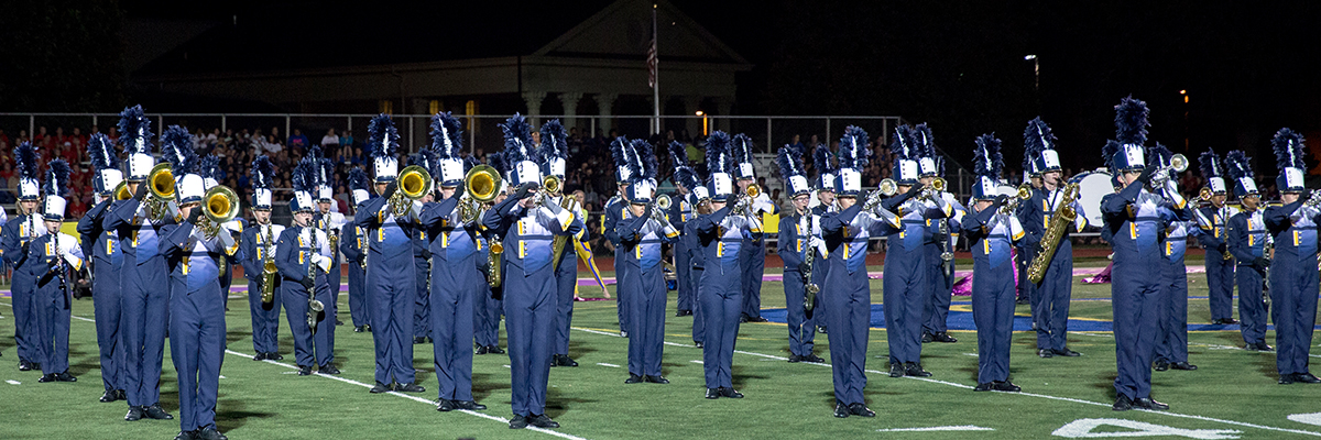 The Panthers performed as an exhibition group at MEMC this past Saturday (Photo by Tim Grout)