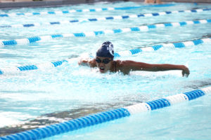 The Panthers finished third in a meet last week in O'Fallon against Edwardsville and Peoria Notre Dame. (O'Fallon Weekly Photo by Sam Scinta)