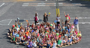 Evans students learn about The Dot