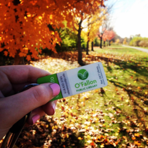 September is Show Your Library Card month in O'Fallon.  (Submitted Photo)