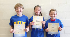Fulton Jr. High recognizes September Students of the Month