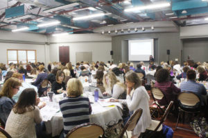 Teachers from around the area attended the seminar hosted by CSX and District 90. (O'Fallon Weekly Photo by Angela Simmons)