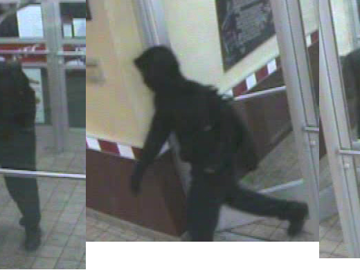 The KFC located on Highway 50 was robbed at gunpoint by this suspect at 8:45 p.m. Friday evening. (submitted photo)
