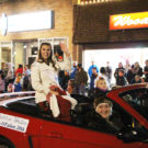 Christmas arrives in town at annual parade