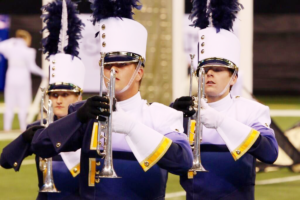 The Band performs at the 2013 BOA Grand National Championships. (Courtesy of Music for All)
