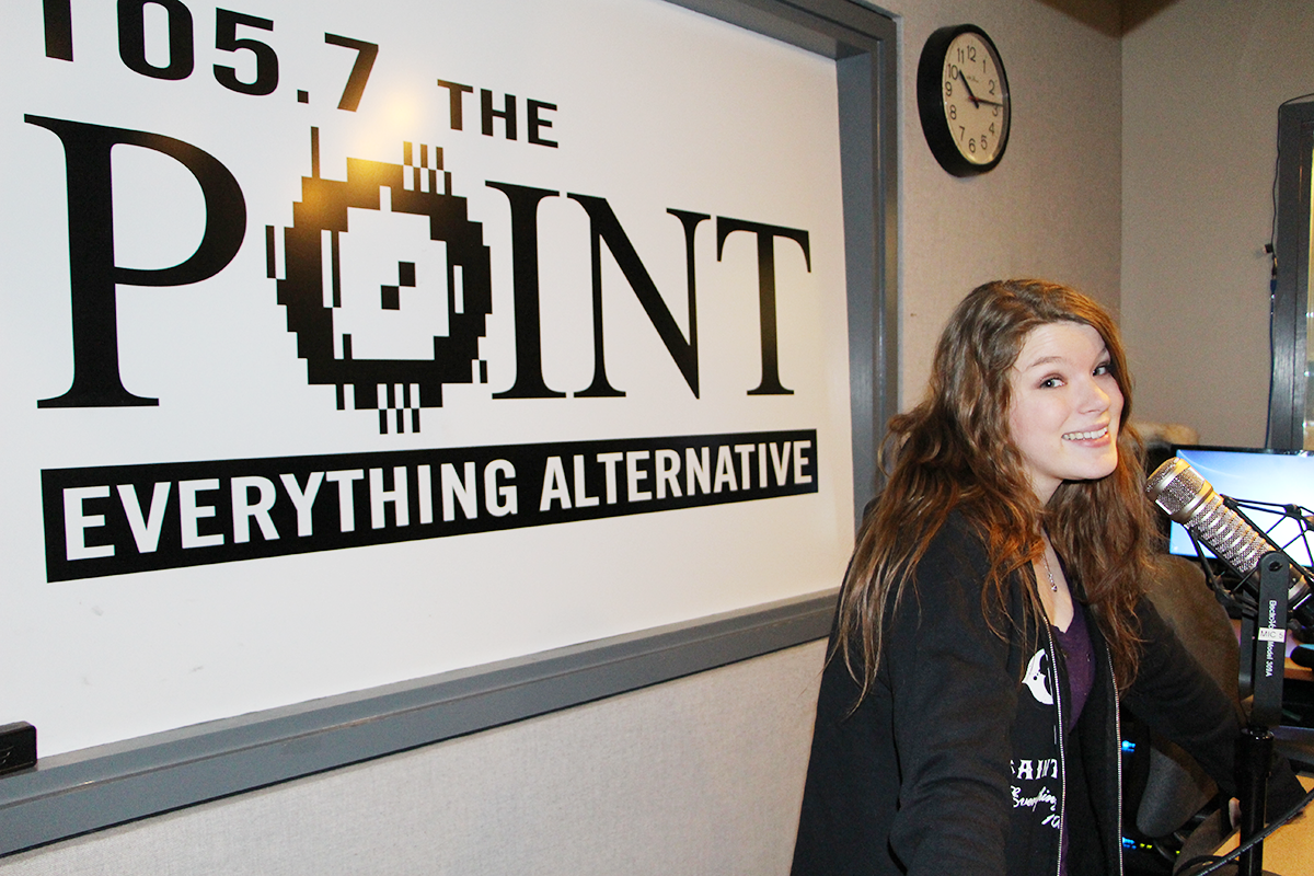 Local girl hits the airwaves as intern for morning radio