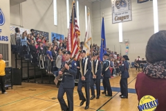 Presentation of the Colors by the OTHS Junior ROTC
