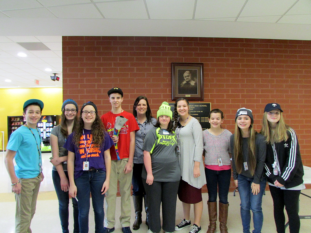 Scholar Bowl Team - Carriel Jr. High