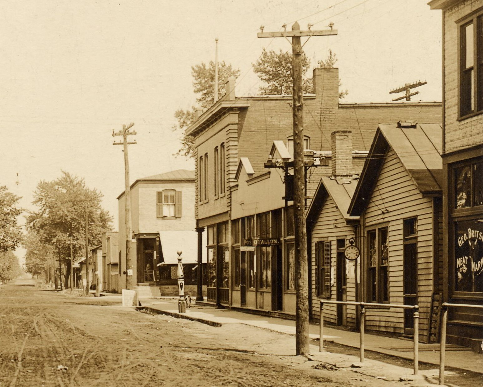 Lincoln and State ca 1910