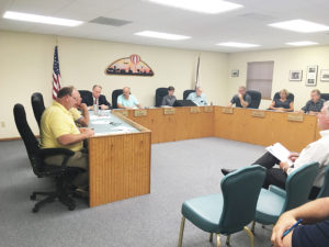 The board approved spending more than $17K for an archeological study on 20.9 acres being purchased by BJC at their September 6 meeting. (O'Fallon Weekly Photo by Angela Simmons)