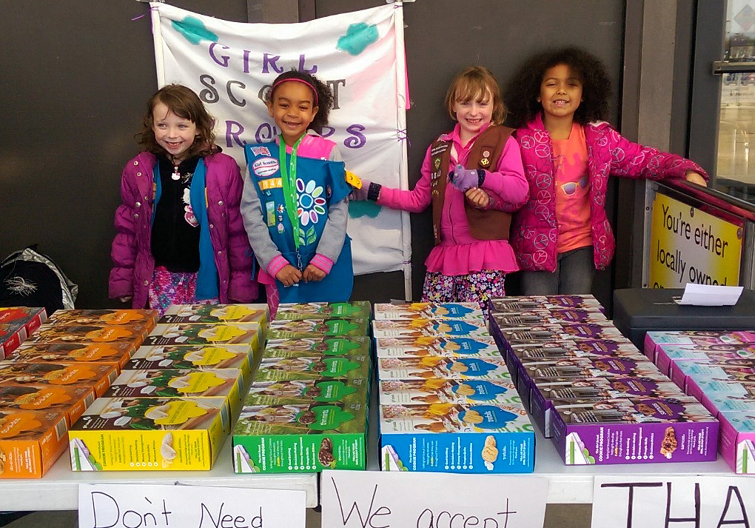 girl scouts celebrate 100 years of cookie sales   o fallon